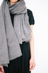 Fine Organic Cotton Giant Scarf - ineffably