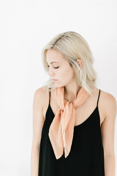 Fine Organic Cotton Neckscarf - ineffably