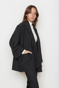Back Beat Rags Abbot Corduroy Knit Robe - ineffably