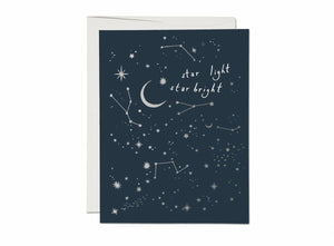 Moon and Stars Card - ineffably