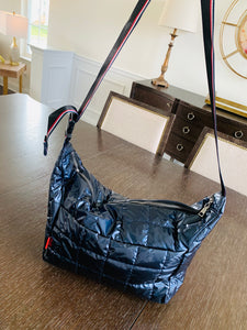 Puffer Navy Tote