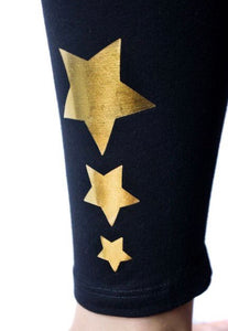 Gold Star Leggings