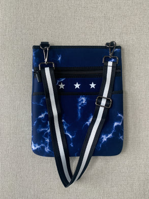 Tie Dye Star Crossbody Bag