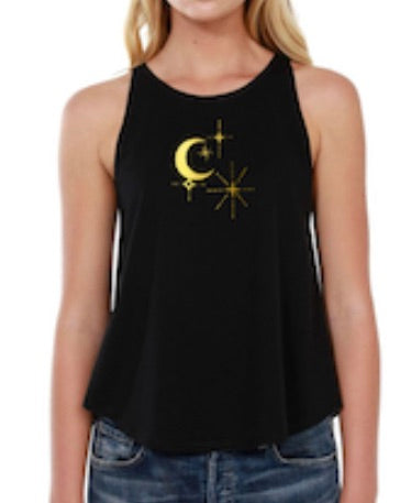 Celestial Rounded Neck Tank