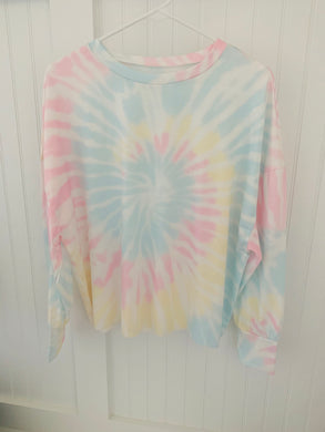 Pastel Tie Dye Long Sleeve