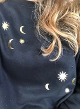 Load image into Gallery viewer, Sun and Moon Crewneck Sweatshirt