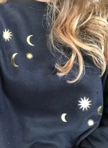 Sun and Moon Crewneck Sweatshirt