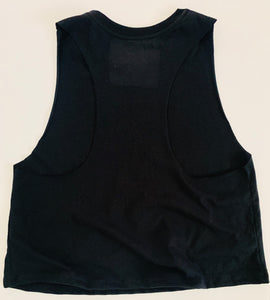 Sunburst Black Tank