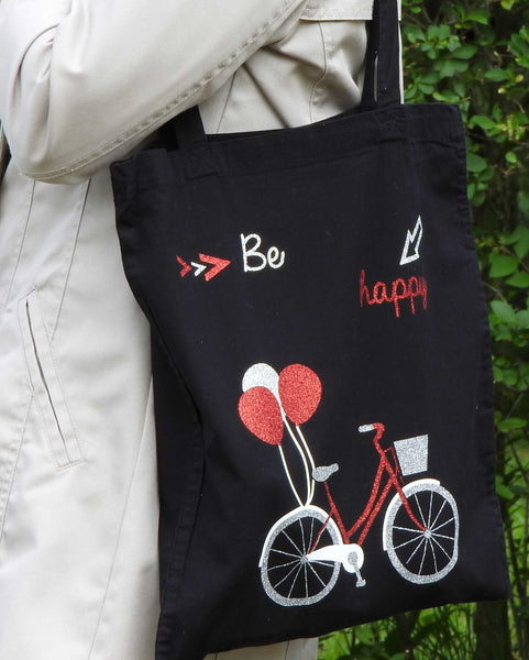 "Sac ""Vélo Be Happy"""