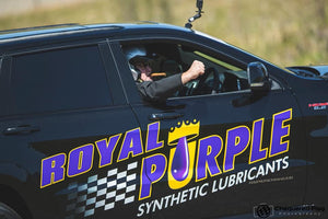 ROYAL PURPLE TRACKHAWK IN THE FLYING 500