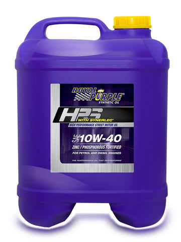 HPS – SAE 10W-40 High Performance Street Motor Oil - 20 Litre