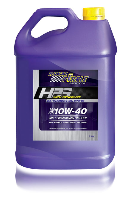 HPS – SAE 10W-40 High Performance Street Motor Oil - 5 Litre