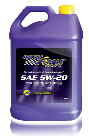 RP – SAE 5W-20 Royal Purple Motor Oil - 5 Litre