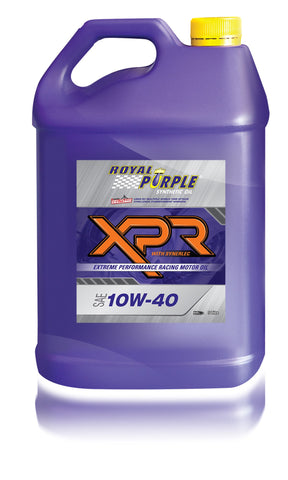 XPR – SAE 10W-40 Extreme Performance Racing Oil - 5 Litre