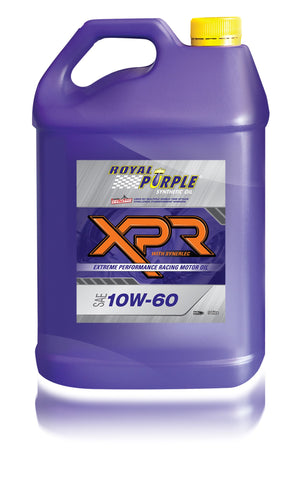 XPR – SAE 10W-60 Extreme Performance Racing Oil - 5 Litre