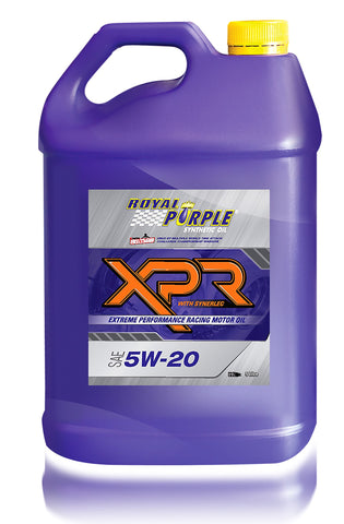 XPR – SAE 5W-20 Extreme Performance Racing Oil - 5 Litre