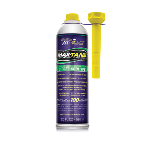 MAX TANE — Diesel Fuel Injector Cleaner & Cetane Booster - 591ml