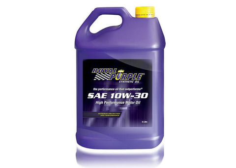 RP – SAE 10W-30 Royal Purple Motor Oil - 5 Litre
