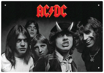AC/DC – Highway to Hell – Tin Sign
