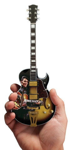 Elvis Presley Signature '68 Special Hollow Body Model Miniature Guitar Replica Collectible