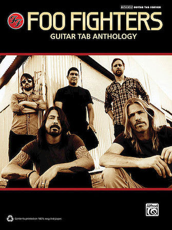 FOO FIGHTERS – GUITAR TAB ANTHOLOGY