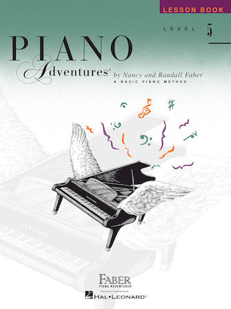 LEVEL 5 – LESSON BOOK Piano Adventures®