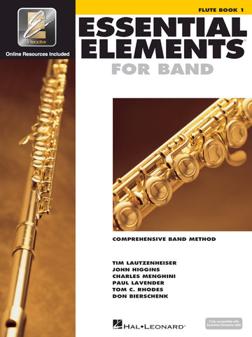 ESSENTIAL ELEMENTS FOR BAND – FLUTE BOOK 1 WITH EEI