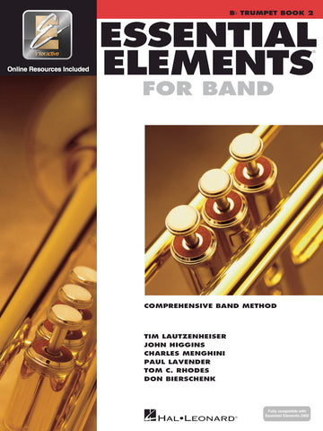 ESSENTIAL ELEMENTS FOR BAND – BOOK 2 WITH EEI Bb Trumpet