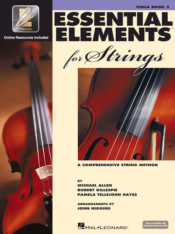 ESSENTIAL ELEMENTS FOR STRINGS – BOOK 2 WITH EEI Viola