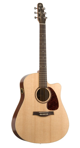 Seagull Coastline S6 Slim CW Spruce QI come with gig bag