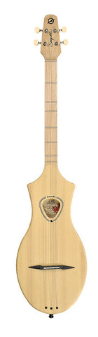 Seagull Merlin Natural Spruce Semi Gloss  Dulcimer Guitar with Gig Bag