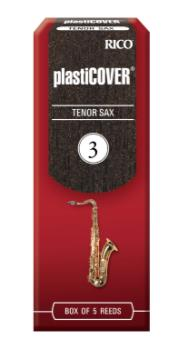 Plasticover by D'Addario Tenor Sax Reeds, Strength 3, 5-pack RRP05TSX300