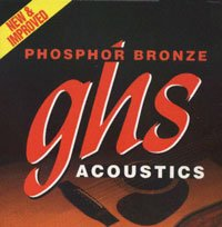 GHS S315 Phosphor Bronze Acoustic Guitar Strings Extra Light Gauge 11 - 50