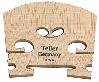 Teller Fitted Violin Bridge - VB10 - 3/4 size
