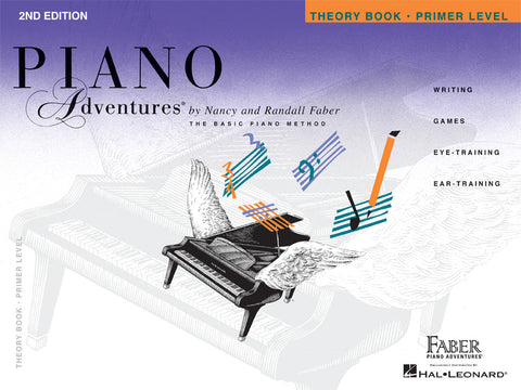 PRIMER LEVEL – THEORY BOOK – 2ND EDITION Piano Adventures®