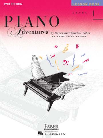 LEVEL 1 – LESSON BOOK – 2ND EDITION Piano Adventures®
