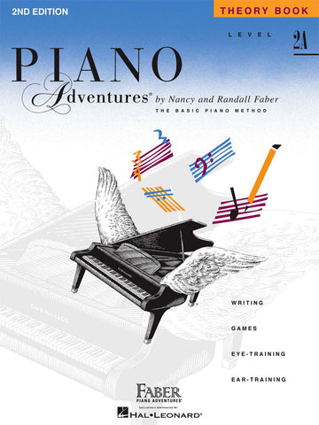 LEVEL 2A – THEORY BOOK – 2ND EDITION Piano Adventures®