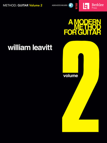 A MODERN METHOD FOR GUITAR – VOLUME 2