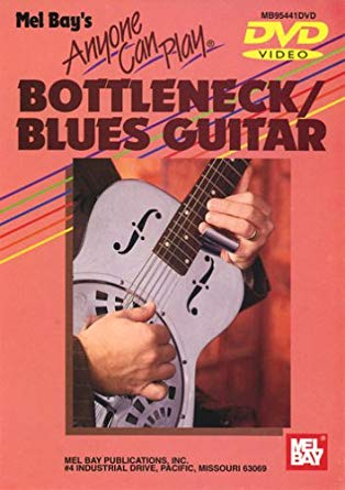Anyone Can Play Bottleneck / Blues Guitar DVD