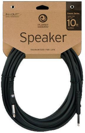 DAddario Planet Waves 10ft Classic Series Speaker Cable PW-CSPK-10