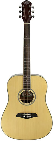 Oscar Schmidt ODN Dreadnought Acoustic Guitar Natural