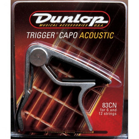 Dunlop 83C Trigger Capo for Curved Fingerboards - Assorted Colors
