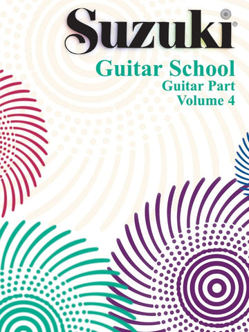 Suzuki Guitar School Guitar Part, Volume 4