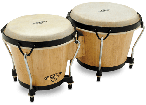 CP Traditional Wood Bongos, cp221-aw-b