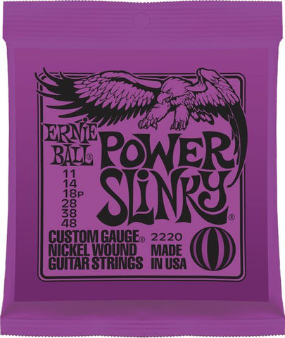 Ernie Ball 2220 Power Slinky Nickel Wound .011 - .048 Purple pack