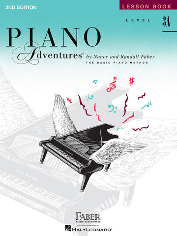 LEVEL 3A – LESSON BOOK – 2ND EDITION Piano Adventures®
