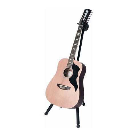 Quik Lok GS-500 Universal Acoustic/Electric Guitar Stand, Black