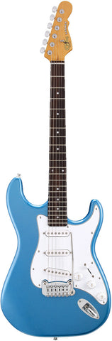 G&L Tribute Legacy Electric Guitar in Lake Placid Blue