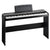 USED Korg SP170SBK 88-Key Digital Piano Black W/ Matching Wooden Stand & Damer pedal