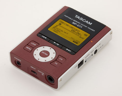 Tascam MPGT1 Portable MP3 Guitar Trainer